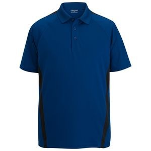 Edwards Men's Snag-Proof Color Block Polo