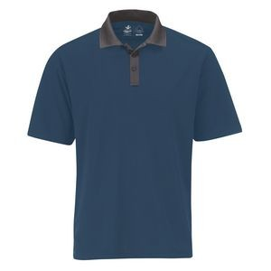 Men's Performance Two-Tone Polo Shirt
